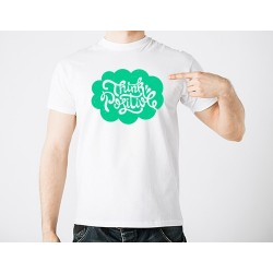 """Personalized """"Think Positive"""" tshirt"""