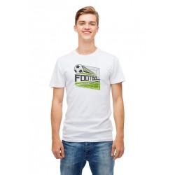 Customizable Football T-Shirt (Field-Goal)