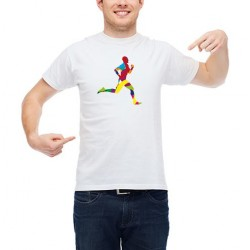 Customizable Running T-Shirt (colors)