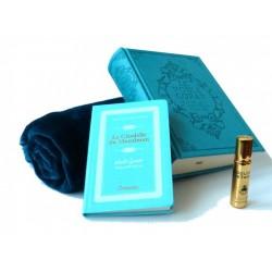 Pack cadeau bleu : Le Noble Coran (bilingue français/arabe) + La Citadelle du Musulman...