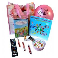 Pack Cadeau pour enfants : J'apprends le bon comportement (Version Filles)