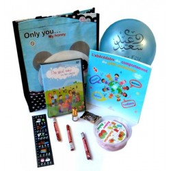 Pack Cadeau pour enfants : J'apprends le bon comportement (Version Garçons)