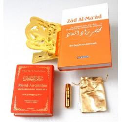 "Pack Cadeau Orange : Résumé de ""Zâd Al-ma'âd"", ""La citadelle du musulman"", Porte Coran..."