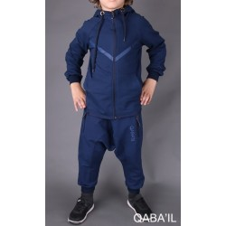 LEGEND NEO Kid Tracksuit - Indigo Blue (3-8 years)