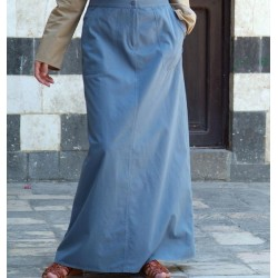 Long skirt with pockets - Pocketed Skirt [wT401]