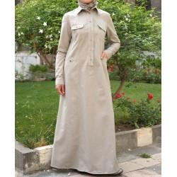 Dress - Leah Shirtdress [wD0212]