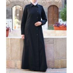 Long coat - Shirtdress Jilbab [wO5801]