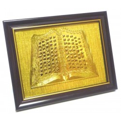 Golden wood frame painting