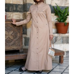 Coat dress - Layla Jilbab [wD0214]