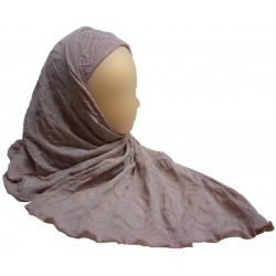 Hijab with patterns - 1 piece