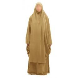 Jilbab Beige (Size M)