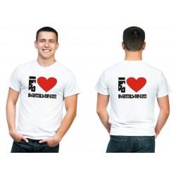 "Personalized TShirt ""I love Medina"" (Stars)"