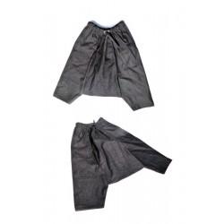 Al-Haramayn Deluxe jeans harem pants with semi-elastic belt for men - Cord model