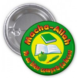 Masha-Allah badge: You understood your lesson correctly - Light green