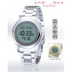 Digital Watch with Prayer Times (Automatic Calculation of Prayer Times) - Women's...
