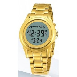 Digital watch with prayer times (automatic calculation of prayer times) - Ladies model...