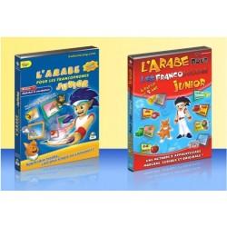 Pack CD-ROM + DVD Arabic for French speakers - Junior