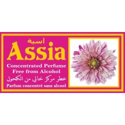 "Concentrated alcohol-free perfume Musc d'Or ""Assia"" (3 ml) - For women"