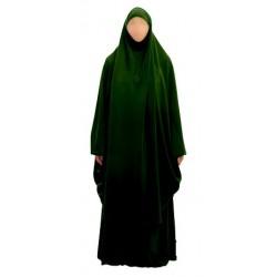 Jilbab 2 pieces skirt + cape (Size L)