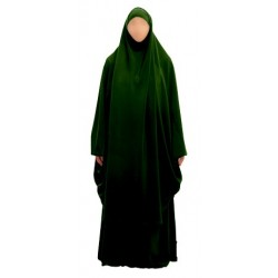 Jilbab 2 pieces skirt + cape (Size XL) - Several colors available
