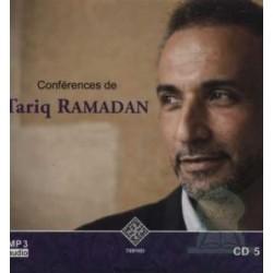 Tariq Ramadan Lectures (CD 5 - MP3 Audio)
