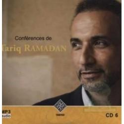 Tariq Ramadan Lectures (CD 6 - MP3 Audio)