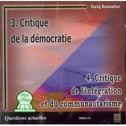 Critique de la démocratie - Critique de l'intégration et du communautarisme