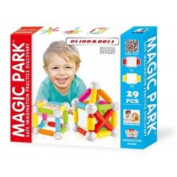 Magic Park : Jeu d'assemblage et de construction (29 pièces avec double miroir)