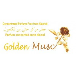 "Concentrated perfume without alcohol Musc d'Or ""Golden Musc"" (3 ml) - Mixed"