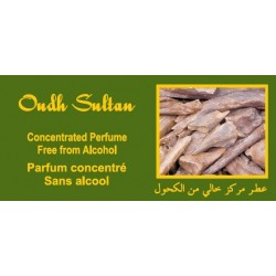 "Concentrated perfume without alcohol Musk d'Or ""Oudh Sultan"" (3 ml) - For men"