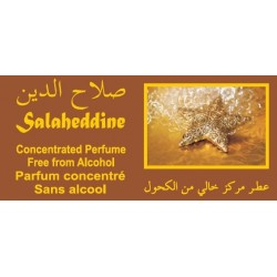 """Concentrated perfume without alcohol Musc d'Or """"Salaheddine"""" (3 ml) - For men"""