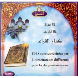 The Complete Holy Quran 114 Suras recited by 114 different reciters among the most...