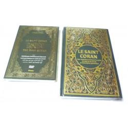 Pack Livre + DVD (Cheikh Abdelbasset) : Le Saint Coran avec traduction en langue...