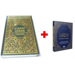 Pack Livre + DVD (Bilingue arabe/français) : Le Saint Coran avec traduction en langue...