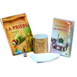 Coffret Cadeau Halal : Apprenez à vos enfants la prière (Livre - DVD - Parfum - Mug -...