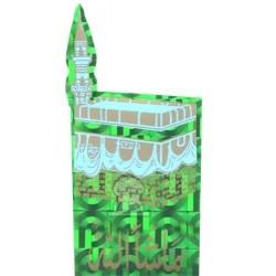 "Sticker The ""Kaaba"" green holographic machalah"