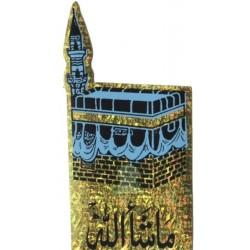 Holographic sticker La Kâba (Kaaba) - MachaAllah