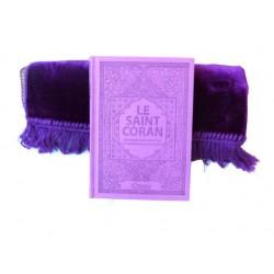 Pack cadeau pour femmes : Le Saint Coran (arabe-français-phonétique) avec couverture...