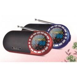 Lecteur MP3 avec clavier - Horloge - Radio FM avec carte MicroSD de 8 Go préchargée par...