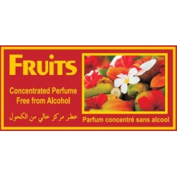 "Concentrated perfume without alcohol Musk d'Or ""Fruits"" (3 ml) - Mixed"