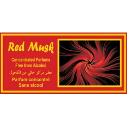 "Concentrated perfume without alcohol Musc d'Or ""Red Musk"" (3 ml) - Mixed"