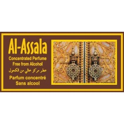 "Concentrated perfume without alcohol Musk d'Or ""Al-Assala"" (3 ml) - For men"