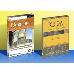 Pack J'apprends l'arabe + IQRA : Apprendre l'arabe le Coran et les Hadiths