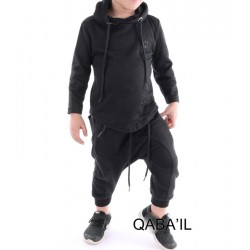 Qabail ONYX Junior Kids Set (10 - 16 years) - Black