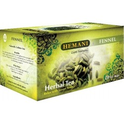Fennel tea (20 sachets) - Fennel Herbal Tea - شاي الشمار