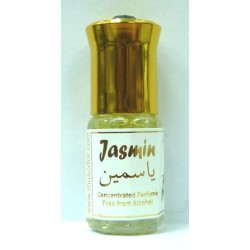 "Concentrated perfume without alcohol Musk d'Or ""Jasmine"" (3 ml) - Mixed"