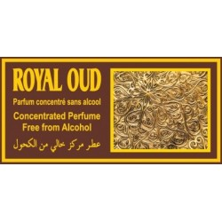 "Concentrated perfume without alcohol Musc d'Or ""Royal Oud"" (3 ml) - For men"