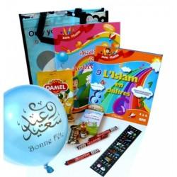 """Pack cadeau """"Jeux et activités"""" (3 - 6 ans) pour garçons"""