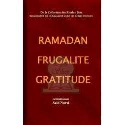 Ramadan – Frugalité – Gratitude
