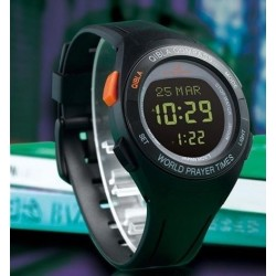 Al-Sahar electronic watch with compass and automatic calculation of prayer times...